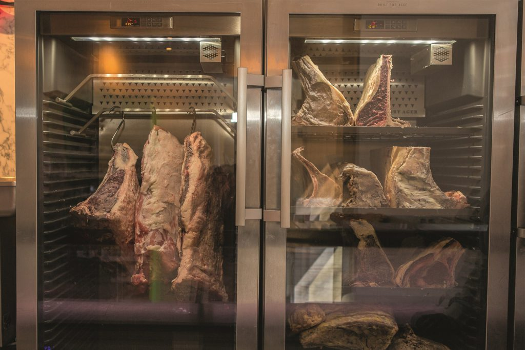 La Viande dry-aged vlees